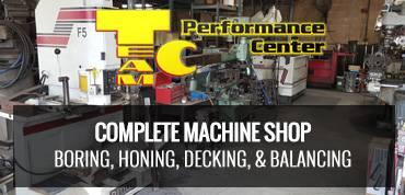 team c complete machine performance center