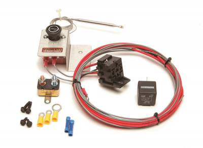 Painless Wiring - Adjustable Fan Thermostat w/Relay - 30104 - Image 1