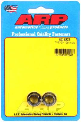 ARP - ARP 7/16-20 12Pt Nut Kit - 300-8323 - Image 1