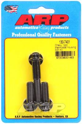 ARP - ARP Chevy 12Pt Thermostat Housing Bolt Kit - 130-7401 - Image 1
