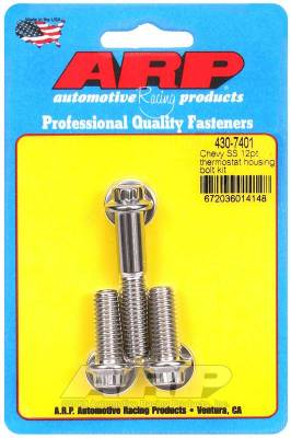 ARP - ARP Chevy SS 12Pt Thermostat Housing Bolt Kit - 430-7401 - Image 1