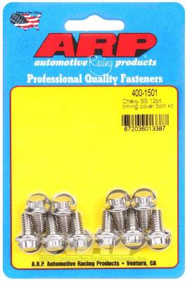 ARP - ARP Chevy SS 12Pt Timing Cover Bolt Kit - 400-1501 - Image 1