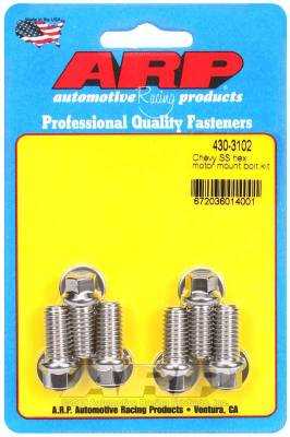 ARP - ARP Chevy SS Hex Motor Mount Bolt Kit - 430-3102 - Image 1