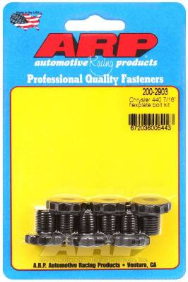 "ARP - ARP Chrysler 440 7/16"" Flexplate Bolt Kit - 200-2903 - Image 1"