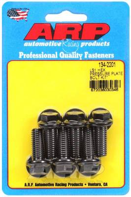 ARP - ARP Small Block Chevy LS1 Hex Pressure Plate Bolt Kit - 134-2201 - Image 1