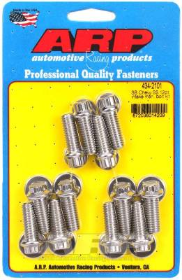 ARP - ARP Small Block Chevy SS 12Pt Intake Manifold Bolt Kit - 434-2101 - Image 1