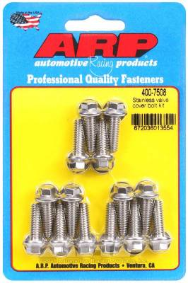 ARP - ARP SS Valve Cover Bolt Kit - 400-7508 - Image 1