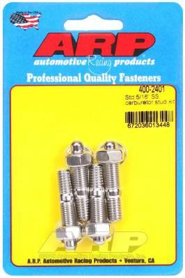 "ARP - ARP Standard 5/16"" SS Carburetor Stud Kit - 400-2401 - Image 1"