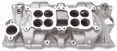 Edelbrock - C-26 Small Block Chevy Dual-Quad Intake Manifold - 5425 - Image 1