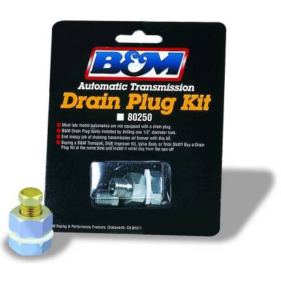 B&M - DRAIN PLUG KIT - 80250 - Image 1