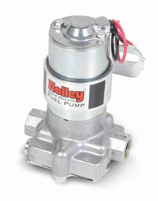 Holley - ELEC FUEL PUMP BLACK AUTO - 12-815-1 - Image 1