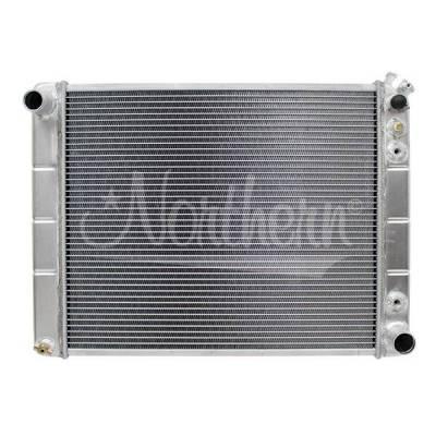 Northern Radiator - Muscle Car Radiator - 25 3/8 X 18 5/8 X 3 1/8 - 205028 - Image 1