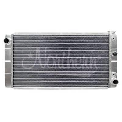 Northern Radiator - Muscle Car Radiator - 30 3/4 X 15 7/8 X 3 1/8 - 205067 - Image 1