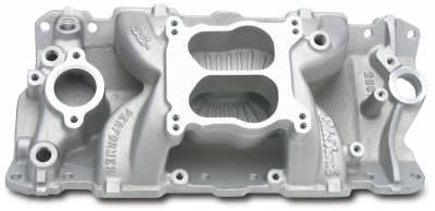 Edelbrock - Performer Air-Gap Intake Manifold for 1955-86 Small-Block Chevy - 2601 - Image 1