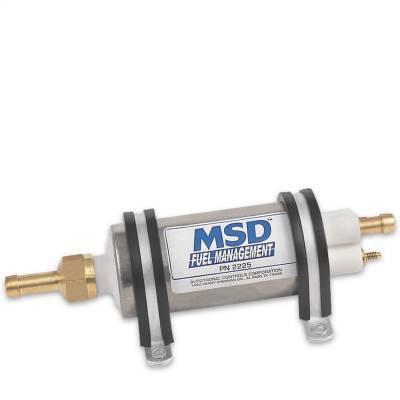 MSD - High Pressure Electric Fuel Pump, 43 GPH - 2225 - Image 1