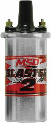 MSD - Blaster 2 Coil, Chrome, w/Ballast/Hrdwre - 8200MSD - Image 1