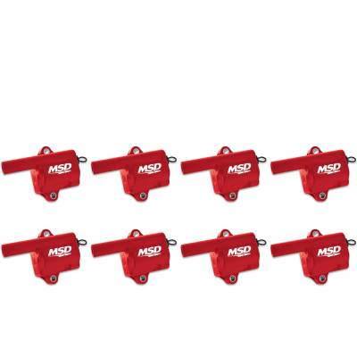 MSD - Coils, GM LS, Truck Style Coil, 8-Pack - 82868 - Image 1