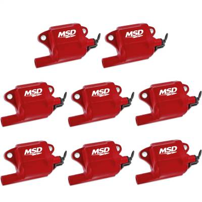MSD - Coils, GM LS Series (LS-2/7), 8-Pack - 82878 - Image 1