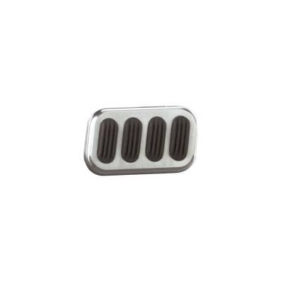 Lokar - Lokar Billet Alum Brake Pad W/Rubber - BAG-6005 - Image 1