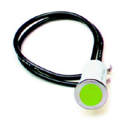 Lighting - Instrumentation - Dash Indicator Light Set - Painless Wiring - 1/2in. Dash Indicator Light/Green - 80210