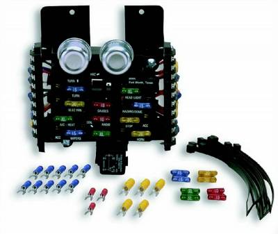 Painless Wiring - 11-Fuse ATO Fuse Center - 30001