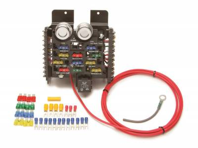 Painless Wiring - 11-Fuse Race Car Fuse Block - 50101