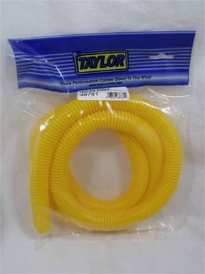 Wire, Cable and Related Components - Wire Conduit - Taylor Cable - 3/4in Convoluted Tubing 5ft yellow - 38781
