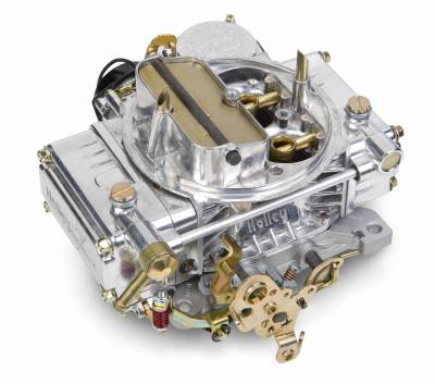 Carburetion - Carburetor - Holley - 4160 750CFM UNIVERSAL POLISHED ALUMINUM - 0-80459SA