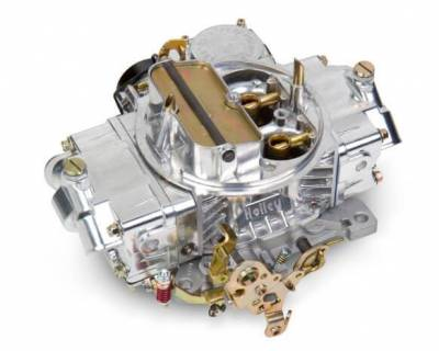 Carburetion - Carburetor - Holley - 4160 750CFM UNIVERSAL POLISHED ALUMINUM - 0-80508SA