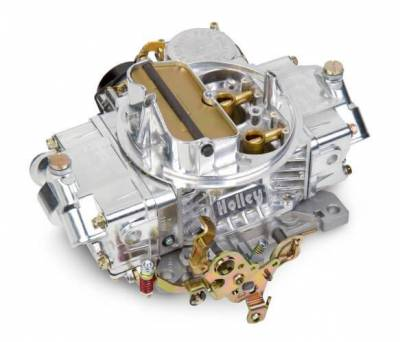 Carburetion - Carburetor - Holley - 4160 UNIVERSAL 600 POLISHED ALUMINUM - 0-80458SA