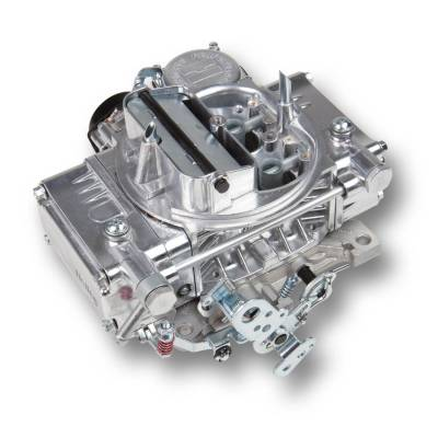 Carburetion - Carburetor - Holley - 4160C UNIVERSAL 600 POLISHED ALUMINUM - 0-80457SA