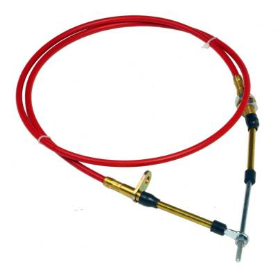 Transmission Hard Parts - Automatic Transmission Shifter Cable - B&M - 4FT EYELET END CABLE - 80604