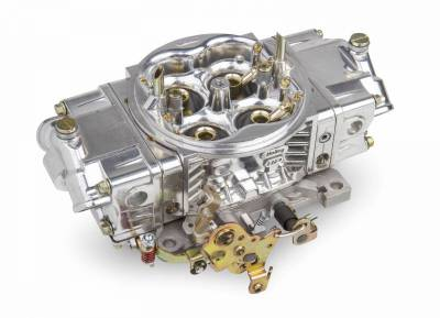 Carburetion - Carburetor - Holley - 650 CFM ALUMINUM STREET HP MECH SEC - 0-82651SA