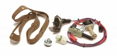 Automatic Transmission Components - Automatic Transmission Wiring Harness - Painless Wiring - 700R4 Transmission Torque Converter Lock-Up Kit - 60109