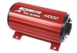 Fuel Pumps and Related Components - Electric Fuel Pump - Aeromotive Fuel System - A1000 Fuel Pump - EFI or Carbureted applications - 11101