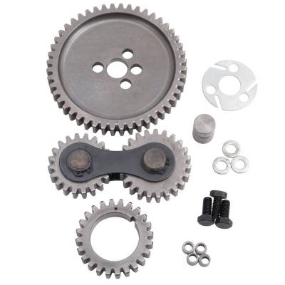 Valve Train Components - Engine Timing Camshaft Gear - Edelbrock - Accu-Drive Gear Drive Big-Block Chevy - 7891