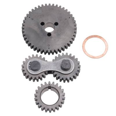 Valve Train Components - Engine Timing Camshaft Gear - Edelbrock - Accu-Drive Gear Drive Big-Block Ford - 7892
