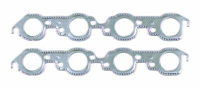 Gaskets and Sealing Systems - Exhaust Manifold Gasket Set - Mr Gasket - ALM EXH GKST-BB CHEV RND - 7407G