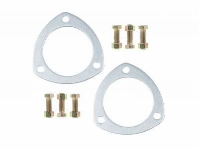 "Gaskets and Sealing Systems - Exhaust Collector Gasket - Mr Gasket - ALM TRI COL GSKT-3.00"" DIA - 7421G"