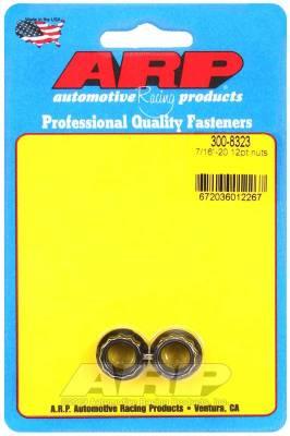 ARP - ARP 7/16-20 12Pt Nut Kit - 300-8323