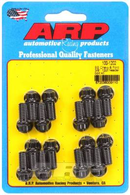 "ARP - ARP Big Block Chevy & Ford 3/8"" 12Pt Header Bolt Kit - 100-1202"