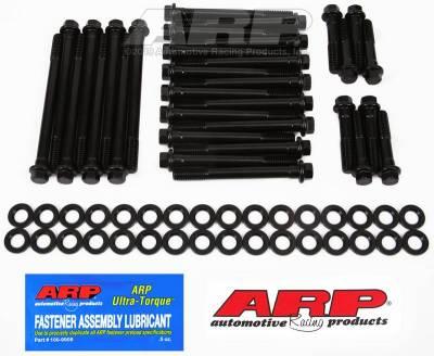 Hardware - Engine Hardware Kit - ARP - ARP Big Block Chevy, W/Edelbrock Head, Hex Head Bolt Kit - 135-3610