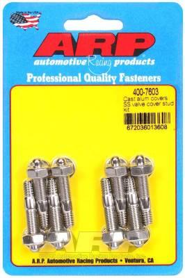 ARP - ARP Cast Alum Covers SS Valve Cover Stud Kit - 400-7603