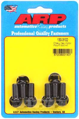 ARP - ARP Chevy Hex Motor Mount Bolt Kit - 130-3102