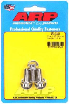 ARP - ARP Chevy SS 12Pt Alternator Bracket Bolt Kit - 430-3301