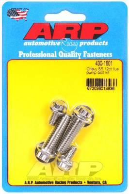 ARP - ARP Chevy SS 12Pt Fuel Pump Bolt Kit - 430-1601