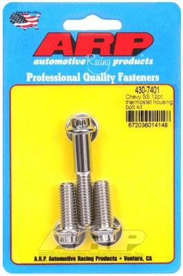 ARP - ARP Chevy SS 12Pt Thermostat Housing Bolt Kit - 430-7401