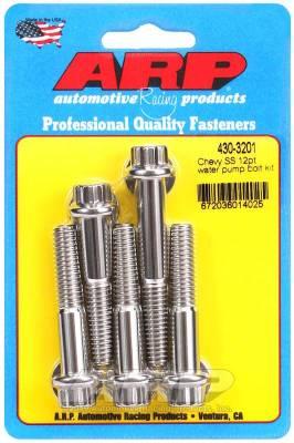ARP - ARP Chevy SS 12Pt Water Pump Bolt Kit - 430-3201