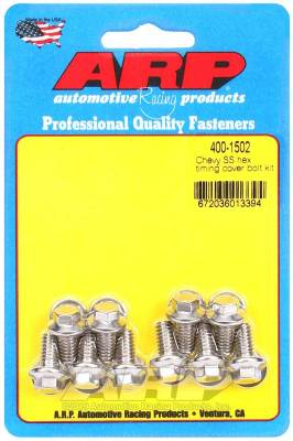 ARP Chevy SS Hex Timing Cover Bolt Kit - 400-1502