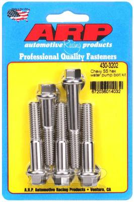 ARP Chevy SS Hex Water Pump Bolt Kit - 430-3202